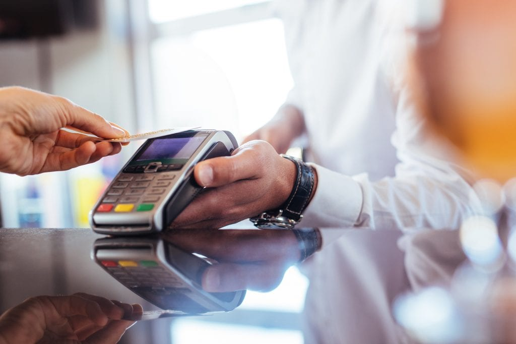 contactless credit card processing